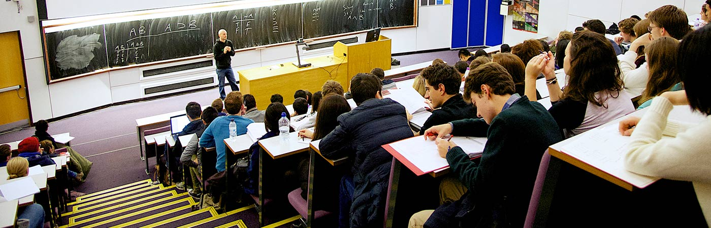Philosophy lecture at The University of Manchester