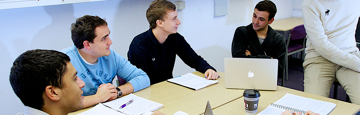 Politics master's students at the School of Social Sciences