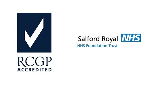RCGP and Salford Royal Foundation Trust logos