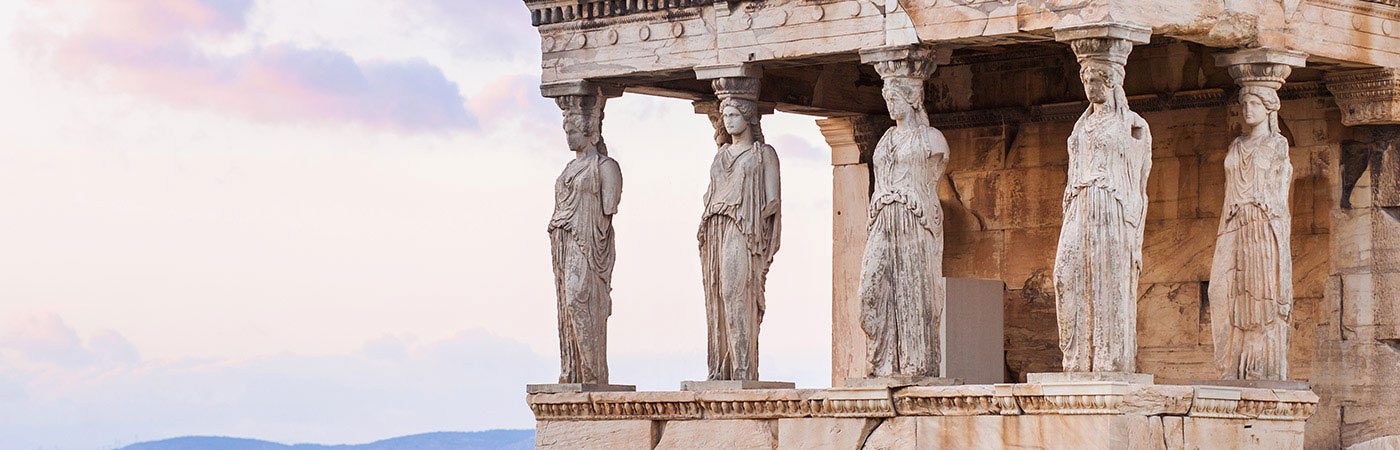 The Caryatid Porch of the Erechtheion, Athens