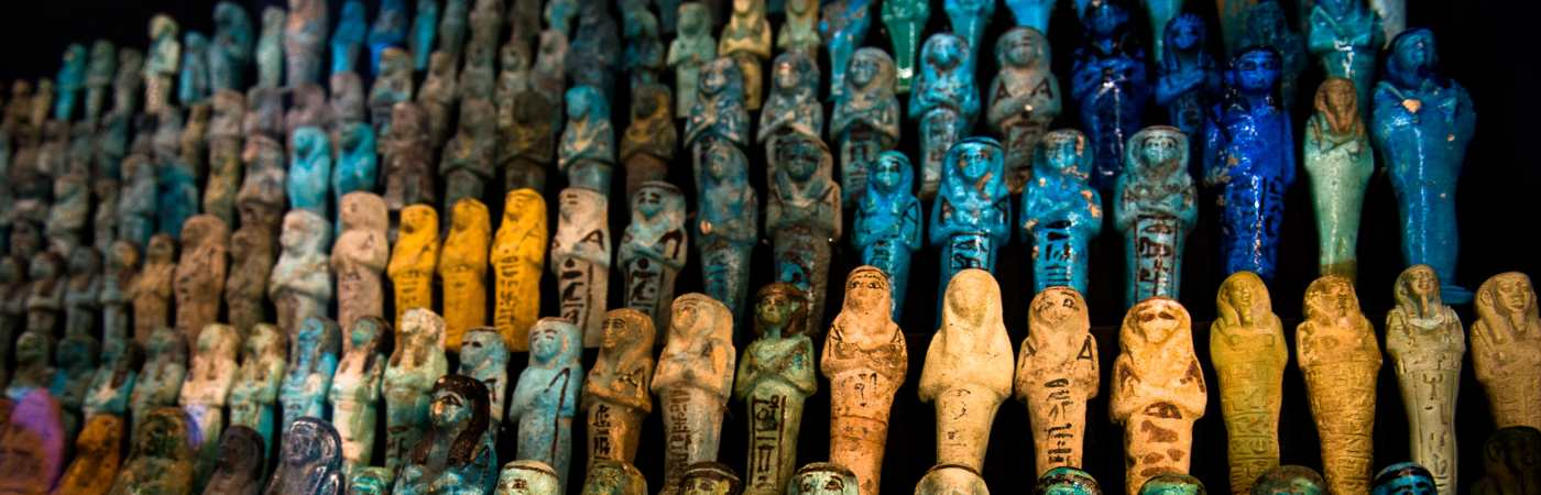 Ancient Egyptian artefacts at Manchester Museum