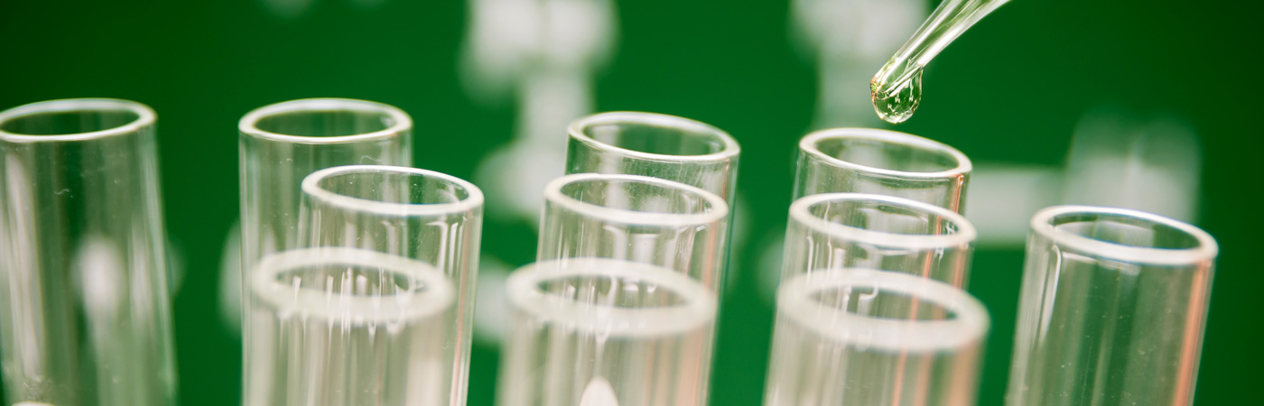 Test tubes in a lab