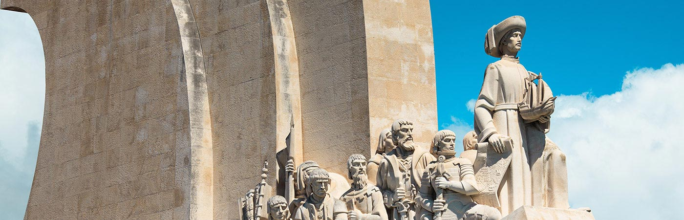 The forerunners of Columbus statue, Lisbon