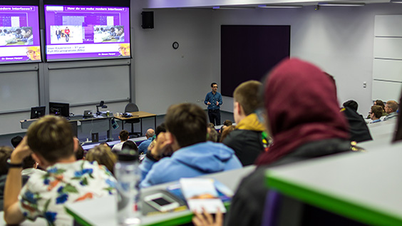 First year lecture