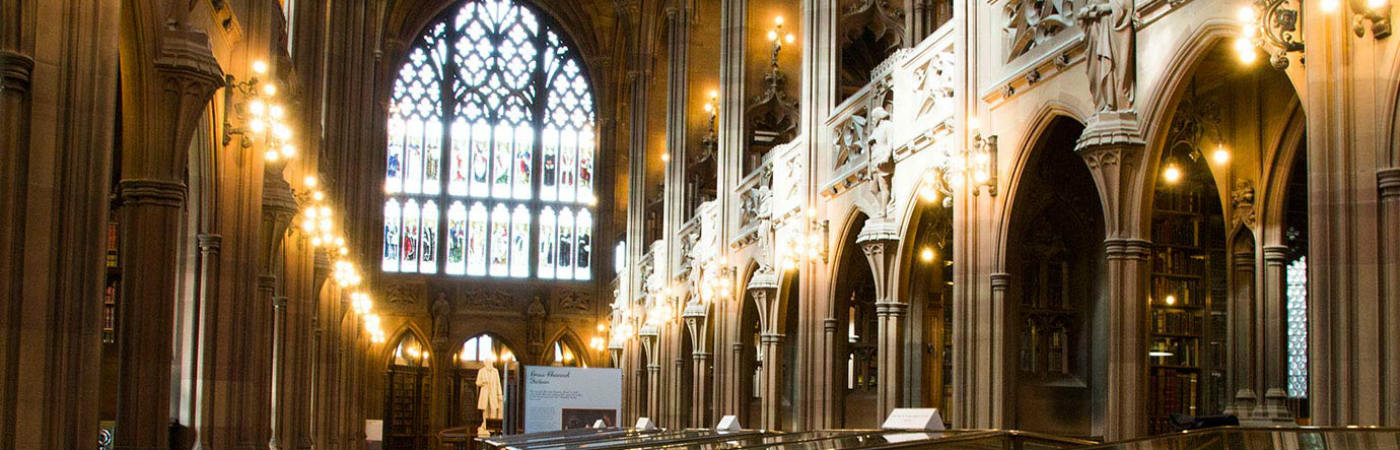 John Rylands Library interior