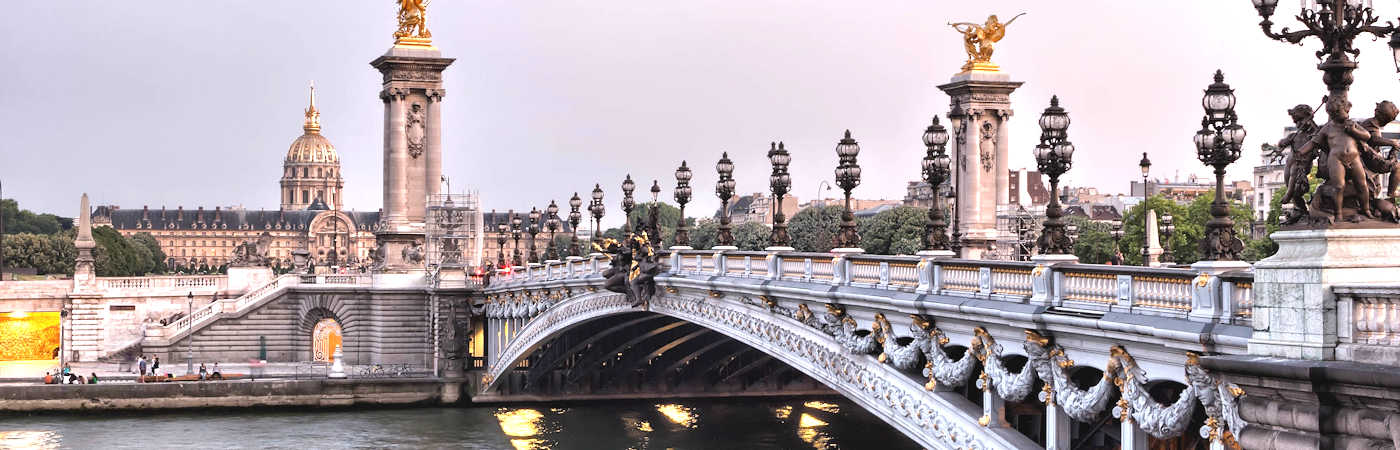 Bridge over the River Seine, Paris