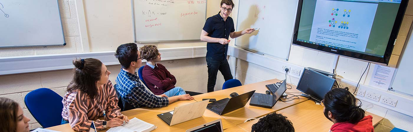 Compsci & Maths Students working