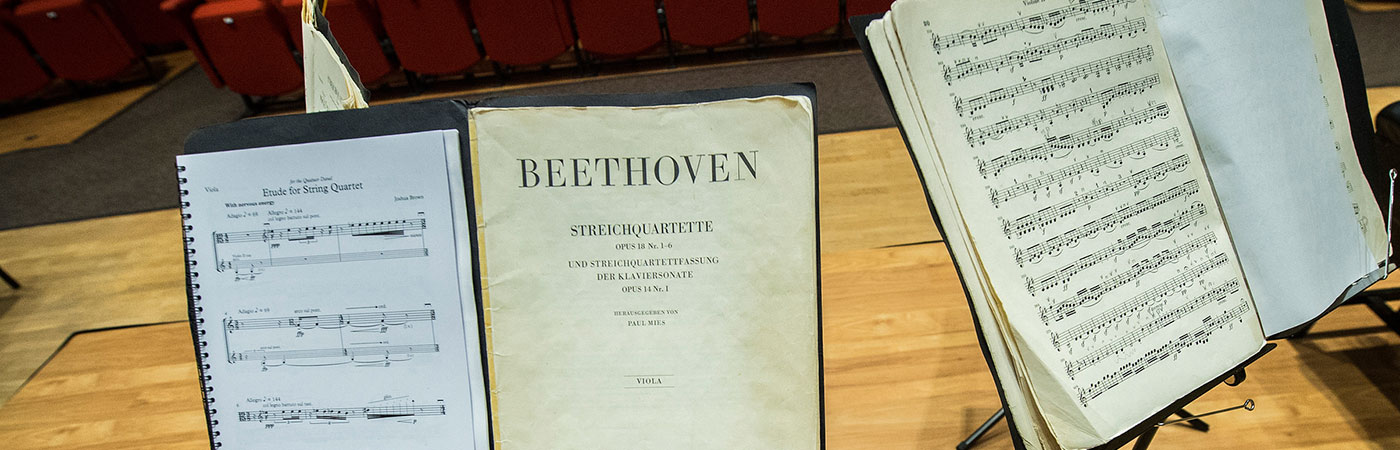 Beethoven sheet music